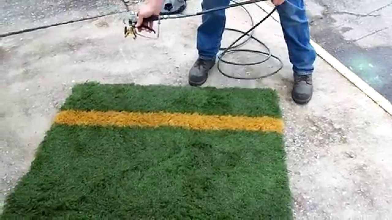 how to paint artificial turf lines artificial turf installation. Black Bedroom Furniture Sets. Home Design Ideas