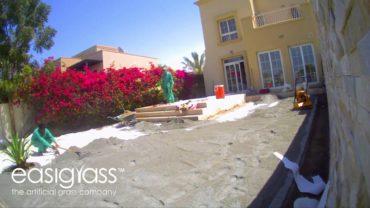 Easigrass Artificial Grass Dubai Time Lapse – The Springs
