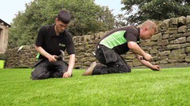 How do You Install Artificial Grass   Artificial Grass Installers Leeds