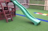 Creche Transformed Into Fun Playground with Artificial Grass